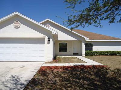 Port Saint Lucie Single Family Home For Sale: 555 SW Laconic Avenue