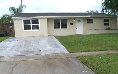 Single Family Home For Sale: 3721 Holiday Road