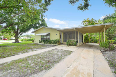 Jupiter Single Family Home For Sale: 5426 Sioux Street