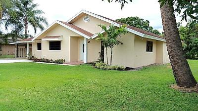 Fort Pierce Single Family Home For Sale: 605 Ribaut Road
