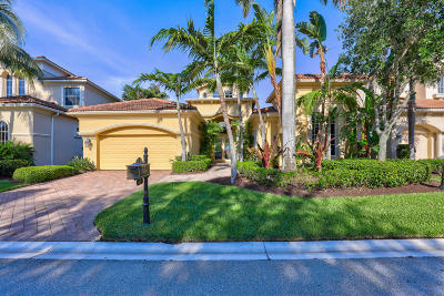 Palm Beach Gardens Single Family Home Contingent: 107 Monte Carlo Drive