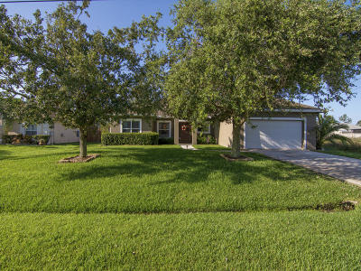 Port Saint Lucie Single Family Home For Sale: 5838 NW Bates Avenue