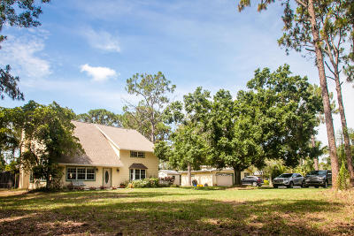 Jupiter Single Family Home For Sale: 12630 175th Road