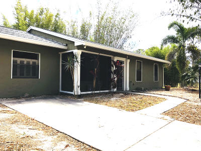 Loxahatchee Single Family Home For Sale: 14642 85th Road