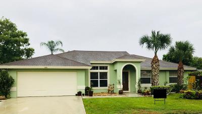 Royal Palm Beach Single Family Home For Sale: 123 Van Gogh Way