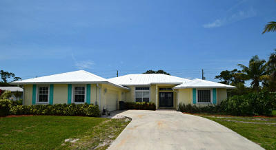 Stuart Single Family Home For Sale: 5092 SE Post Terrace