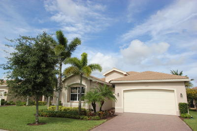 Boynton Beach Single Family Home For Sale: 10590 Regatta Ridge Road
