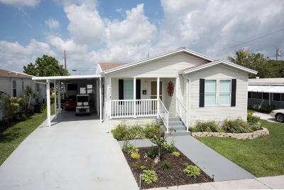 Boynton Beach Mobile Home For Sale: 4077 Bougainvillea Road