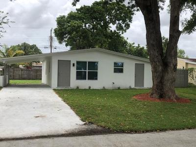 Margate Single Family Home For Sale: 2569 NW 61st Avenue