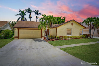 Boca Raton Single Family Home For Sale: 21314 Summertrace Circle