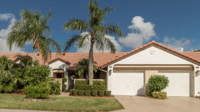 Boynton Beach Single Family Home Contingent: 8249 Waterline Drive