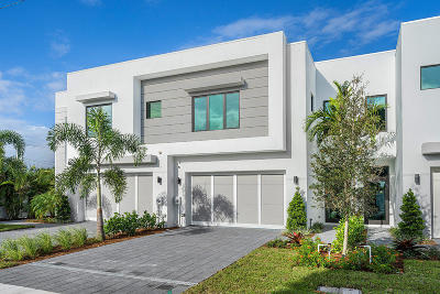 Delray Beach Townhouse For Sale: 830 NE 7th Avenue