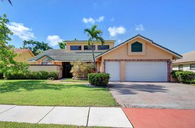 Boca Raton Single Family Home Contingent: 10162 Fresh Meadow Lane