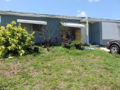 Lake Worth Single Family Home Contingent: 490 Mentone Road