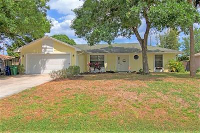 Sebastian Single Family Home Contingent: 385 Toledo Street