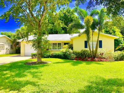 Delray Beach FL Single Family Home For Sale: $429,000