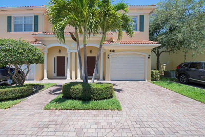 North Palm Beach Townhouse Contingent: 440 Marbella Drive