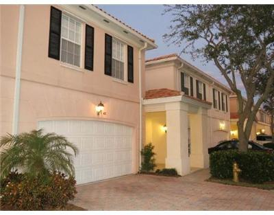Tequesta Townhouse For Sale: 41 Live Oak Circle