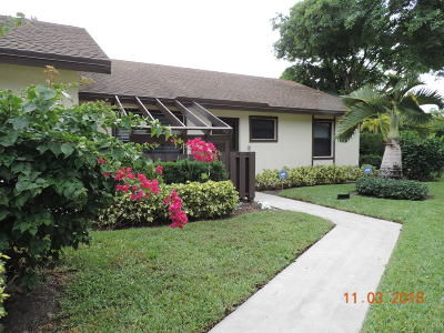 Boynton Beach Condo For Sale: 44 Via De Casas Norte