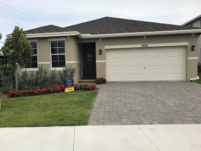 Lake Worth Single Family Home For Sale: 4010 Tomoka Drive