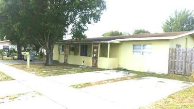 Pompano Beach Multi Family Home For Sale: 351 NE 4th Avenue #1-2