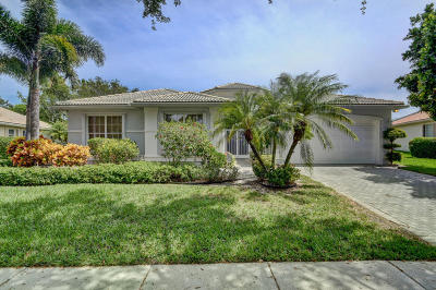 Boynton Beach Single Family Home For Sale: 6874 Fiji Circle