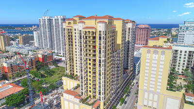 West Palm Beach Condo For Sale: 701 S Olive Avenue #1204