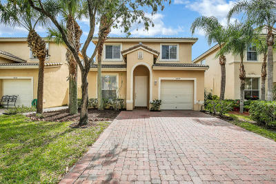 West Palm Beach Single Family Home For Sale: 4327 Lake Lucerne Circle