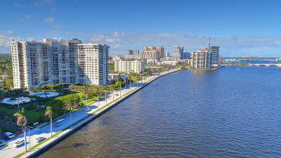 West Palm Beach Condo For Sale: 1701 S Flagler Drive #1001