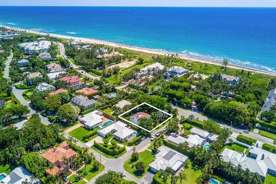 Delray Beach Single Family Home For Sale: 734 S Ocean Boulevard