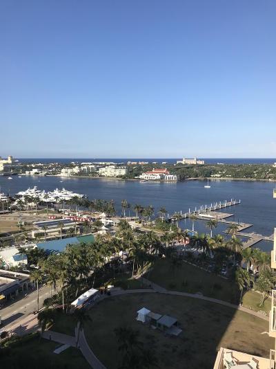 West Palm Beach Rental Leased: 255 Evernia Street #1503