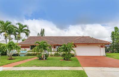 Boynton Beach Single Family Home For Sale: 9804 El Clair Ranch Road