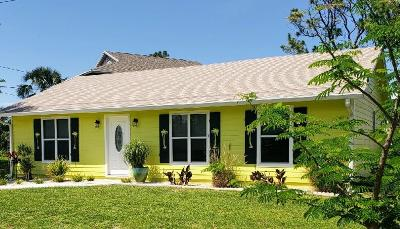Stuart Single Family Home For Sale: 5435 SE Dixie Highway
