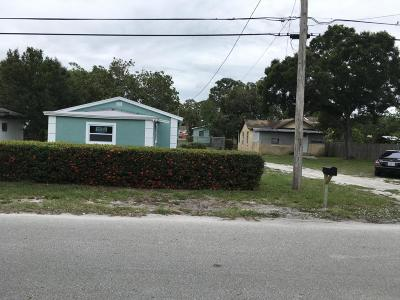 Fort Pierce Multi Family Home For Sale: 1101 22nd Street