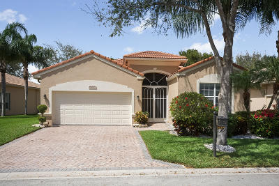 Boynton Beach Single Family Home For Sale: 7839 New Holland Way