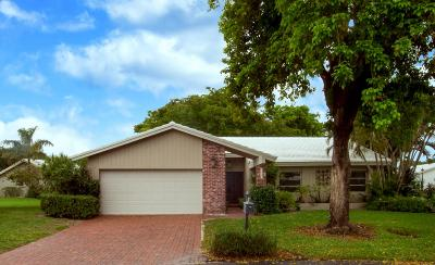 Boca Raton Single Family Home For Sale: 22080 Brentwood Circle