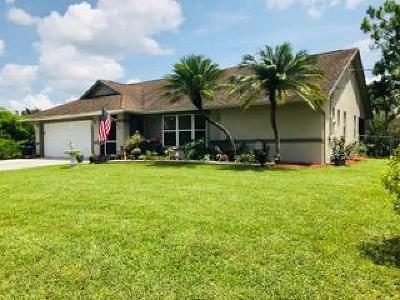 Loxahatchee Single Family Home For Sale: 14872 75th Lane