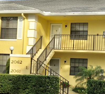 Jupiter Condo For Sale: 2061 Keystone Drive #E