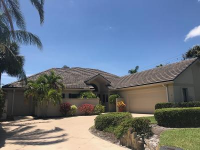 Tequesta Single Family Home Contingent: 10350 SE Terrapin Place