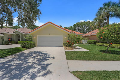 Jupiter Single Family Home For Sale: 108 S Hampton Drive