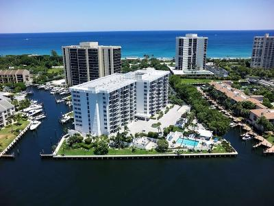 Highland Beach Condo For Sale: 4750 S Ocean Boulevard #806