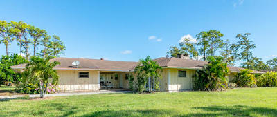 Lake Worth Single Family Home For Sale: 10692 Tamis Trail
