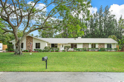 Jupiter Single Family Home For Sale: 5754 Set N Sun Place