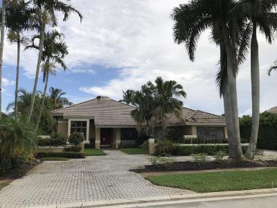 Boca Raton Single Family Home For Sale: 7446 Fenwick Place