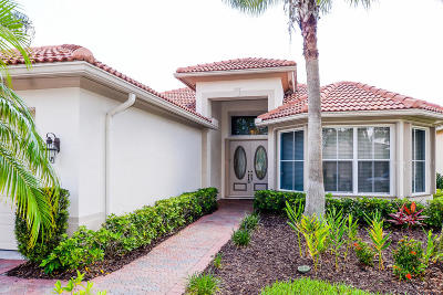 Port Saint Lucie Single Family Home For Sale: 7736 Greenbrier Circle
