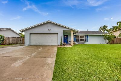 Lake Worth Single Family Home For Sale: 3057 Pebble Beach Drive