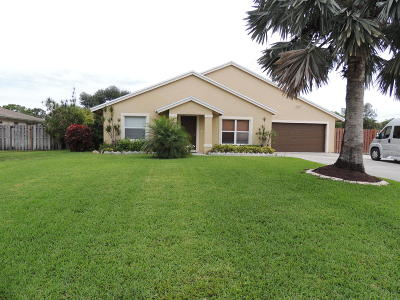 Lake Worth Single Family Home Contingent: 7515 Canal Drive