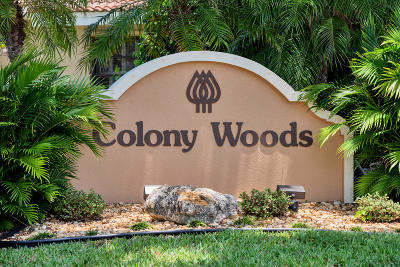 Boca Raton Single Family Home For Sale: 5956 Colony Court