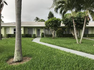 Delray Beach Condo For Sale: 1120 Lemon Tree Terrace #B