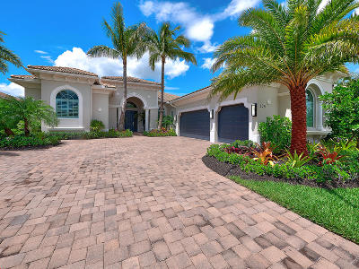 Jupiter Single Family Home For Sale: 205 Sonata Drive